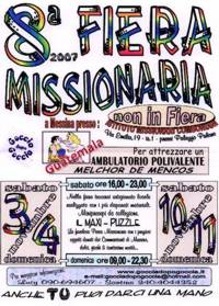 VIII Fiera Missionaria a Messina