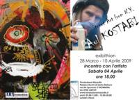 Paul Kostabi in mostra a Taormina