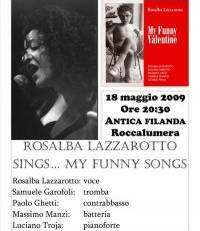 "Rosalba Lazzarotto sings ""My funny...songs"