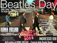 A Roma il Beatles Day 1969-2009 Abbey Road 40th Anniversary Celebration The Night Before… Ringo Starr's Birthday!