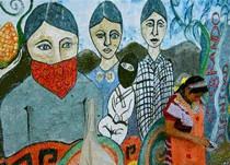 In solidarietá con il movimento zapatista